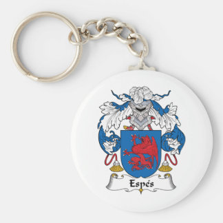 Espes Family Crest Keychain