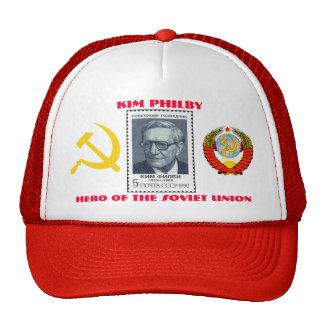 Espía británico Kim Philby, héroe de la Unión Sovi Gorras De Camionero