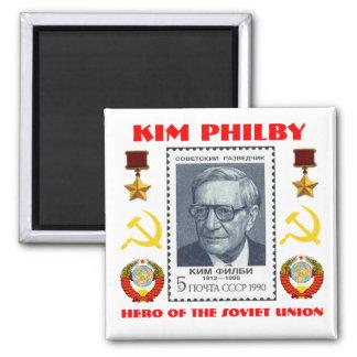 Espía británico Kim Philby, héroe de la Unión Sovi Imán Cuadrado