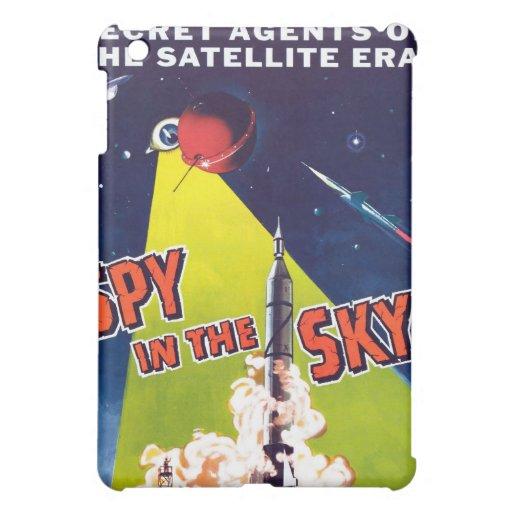 Espía en el caso del iPad del cielo