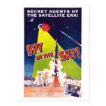 Espía en la postal del cielo