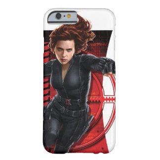 Espía estupendo de la viuda negra funda de iPhone 6 barely there