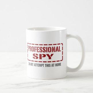 Espía profesional taza