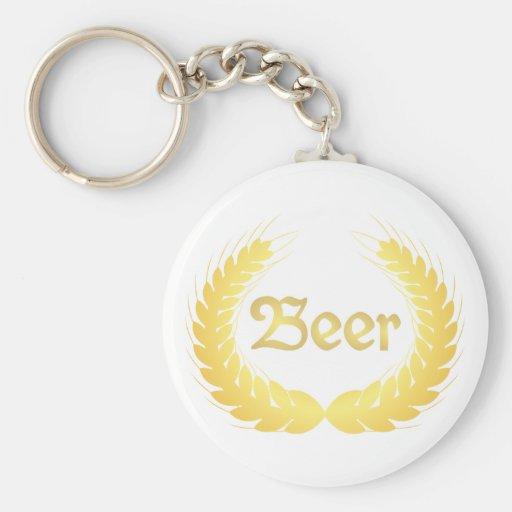 Espigas cerveza spikes beer llavero