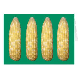 Espigas de espacio en blanco Notecard del trigo Tarjeta Pequeña