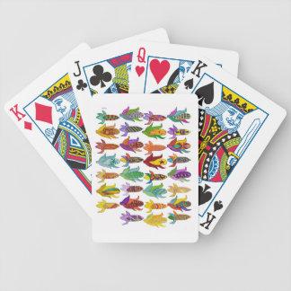 Espigas de trigo para los naipes de julio baraja de cartas