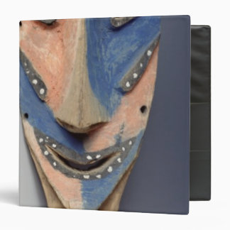 """Espigue la máscara, de Ile de Vao, Nueva Caledonia Carpeta 1 1/2"""""""