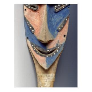 Espigue la máscara, de Ile de Vao, Nueva Caledonia Postales