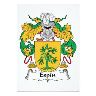 Espin Family Crest Invite