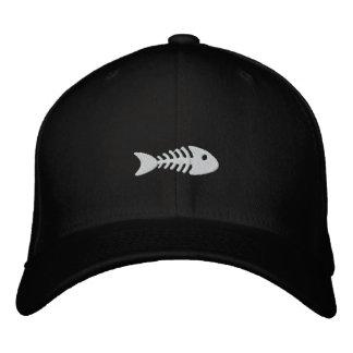 Espina de pez gorro bordado