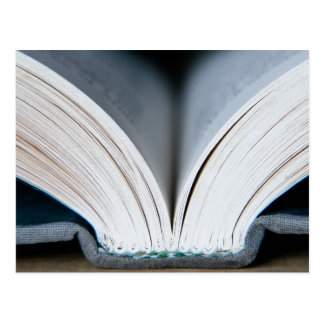 Espina dorsal del libro (postal)