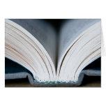 Espina dorsal del libro (tarjeta)