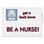 Espina dorsal tarjeta