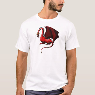 Espina, el dragón rojo playera