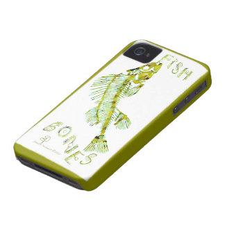 ¡Espinas de pez en su caso del iphone 4 iPhone 4 Case-Mate Funda