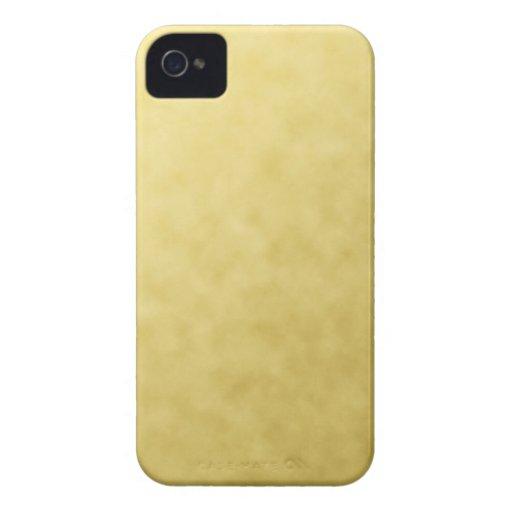 ESPINILLA METÁLICA DEL ORO GOLD5 DE LAS TEXTURAS iPhone 4 Case-Mate COBERTURAS