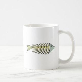 Espinitas pez de fishbones tazas