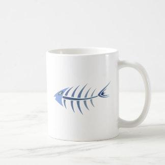 Espinitas pez de fishbones tazas de café