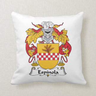 Espinola Family Crest Pillows