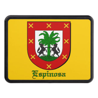 Espinosa Family Shield Tow Hitch Cover