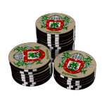 Espinosa Heraldic Arms Poker Chips