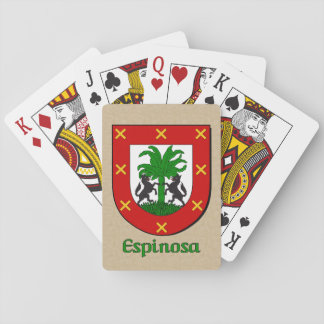 Espinosa Heraldic Shield Playing Cards