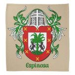 Espinosa Historical Coat of Arms Bandanna
