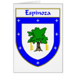 Espinoza Coat of Arms/Family Crest Card