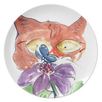 Espío una mariposa…. platos de comidas