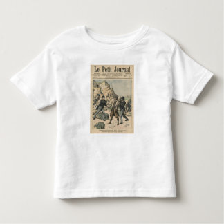 Espionage in France Arrest of an English colonel Toddler T-shirt