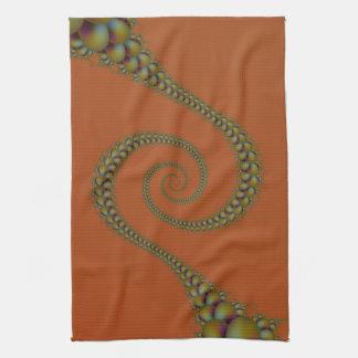Espiral a torcer en espiral toallas de cocina