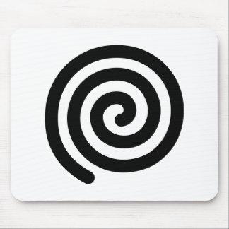 Espiral Alfombrilla De Raton