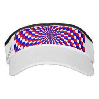 Espiral azul blanco rojo