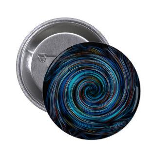 Espiral azul del vórtice pins