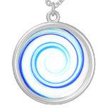 Espiral azul grimpolas personalizadas