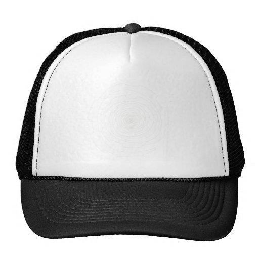 Espiral blanco del engranaje gorras