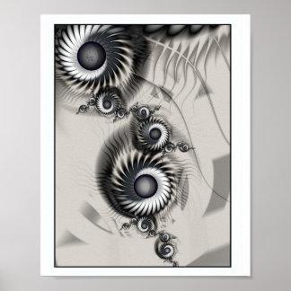 Espiral bonito póster