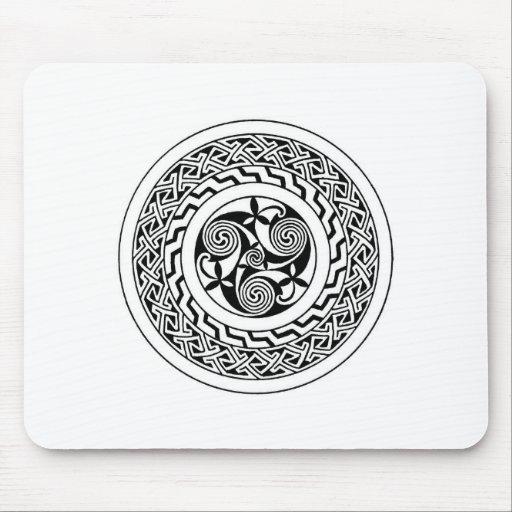 Espiral céltico tapete de raton