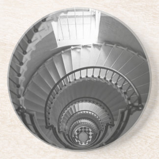 Espiral de B&W Posavasos De Arenisca