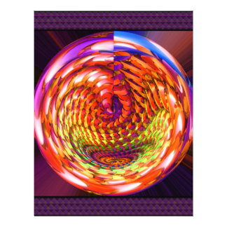"""Espiral de cristal capítulo folleto 8.5"""" x 11"""""""