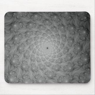 Espiral de espirales en Mousepad monocromático