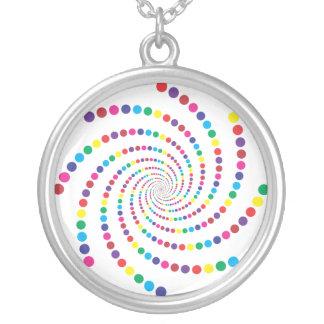 espiral de la burbuja collares