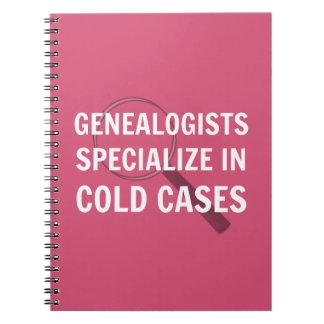 Espiral de la genealogía - cuaderno encuadernado
