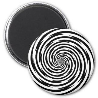 Espiral de la hipnosis imán redondo 5 cm