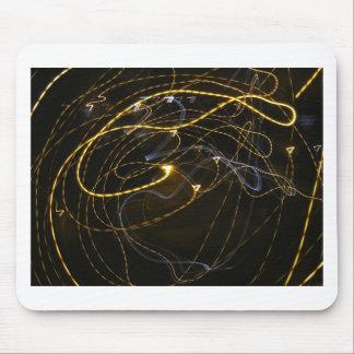 espiral de la luz alfombrillas de ratón