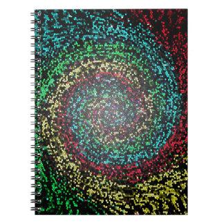 Espiral de la prueba del ojo notebook