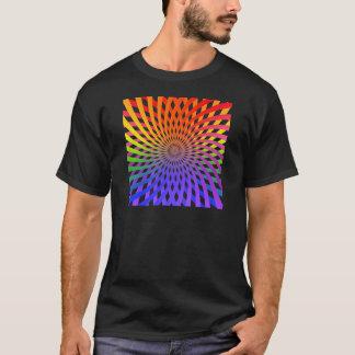 Espiral de la rueda de color: playera
