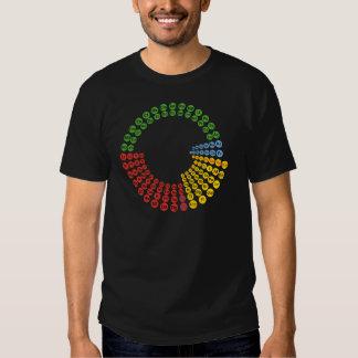 Espiral de la tabla periódica playera