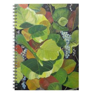Espiral de Seagrape - cuaderno encuadernado