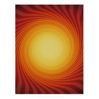 Espiral de Sun: Arte abstracto: Postales